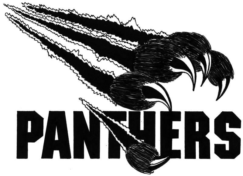 Panther clipart logo #6