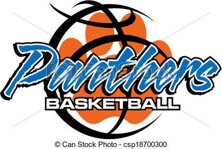 Panther clipart logo #13