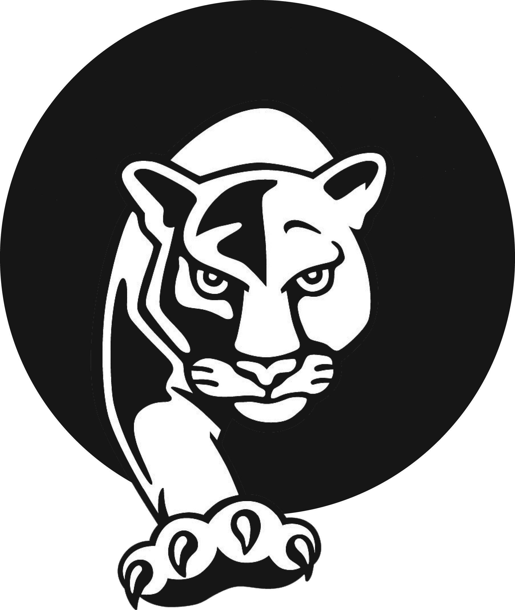 Panther clipart logo #12