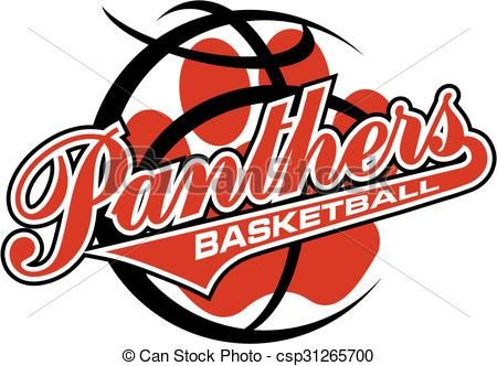 Black Panther clipart panther basketball Art best free illustrations stock