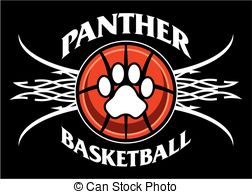 Black Panther clipart panther basketball Tribal  Art of basketball