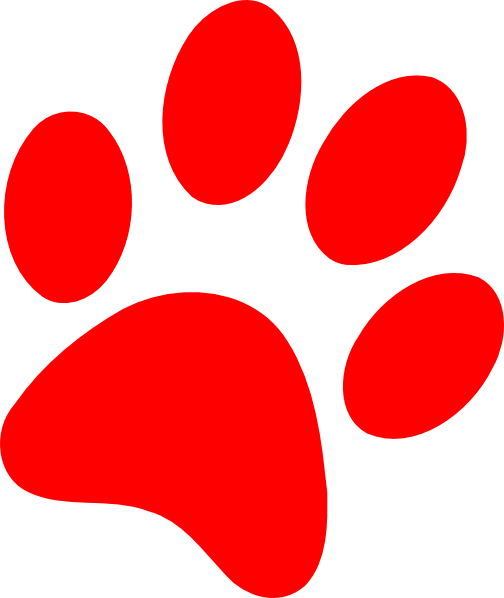 Red clipart panther #13