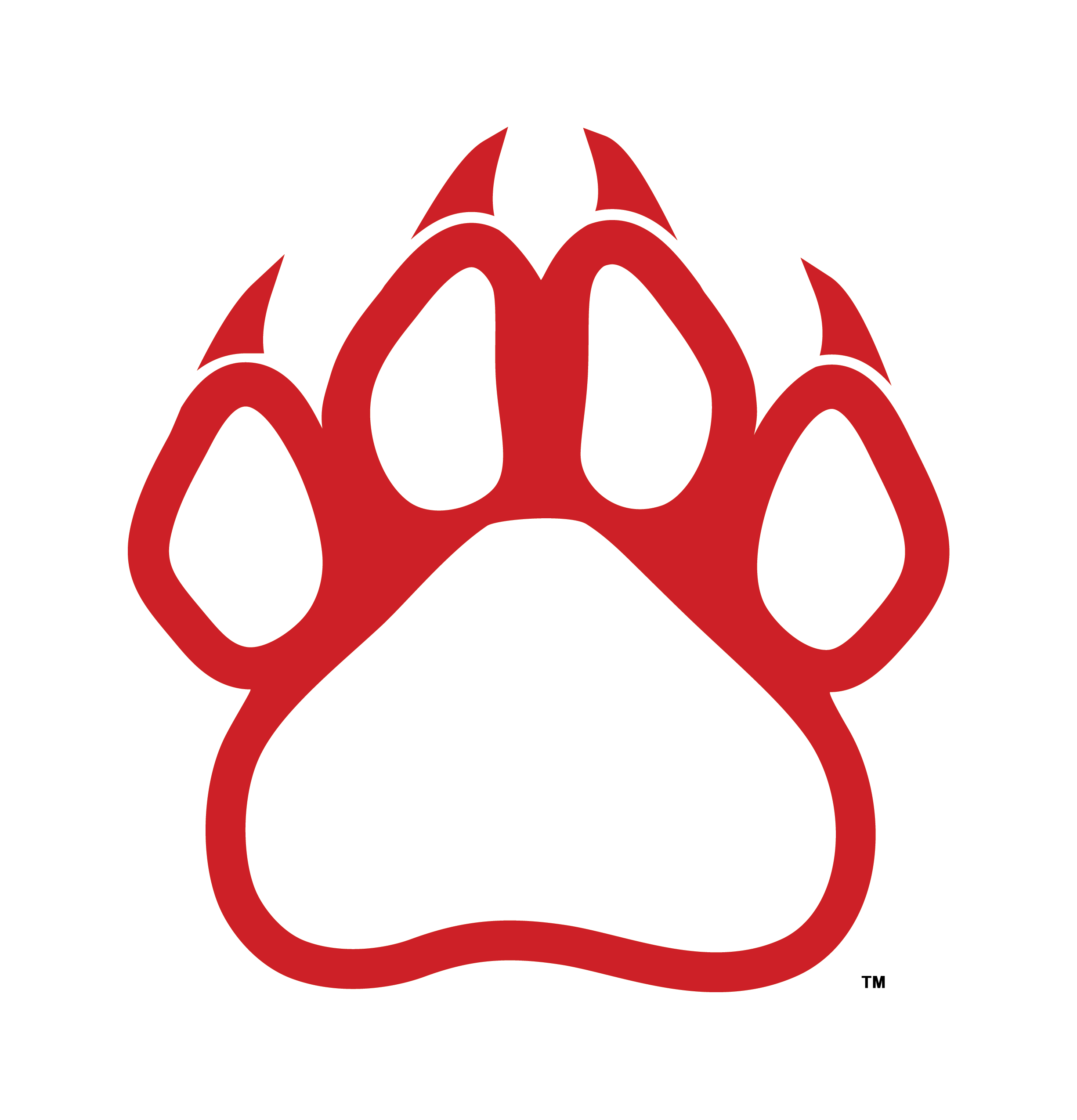 Bobcat clipart bulldog Paw Panther Cliparts Red Zone