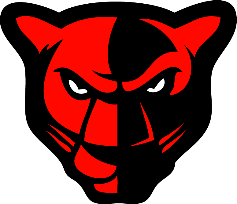 Red clipart panther #9