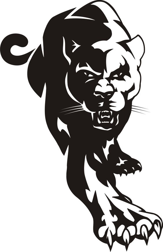 Paw clipart panthers Bob and Black Pin more!