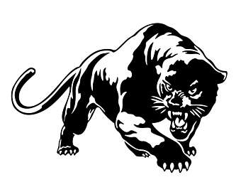 Panther clipart stencil Black Panther Download Download drawings