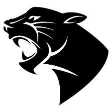 Panther clipart stencil Panther (225×225) graphics Cool Free