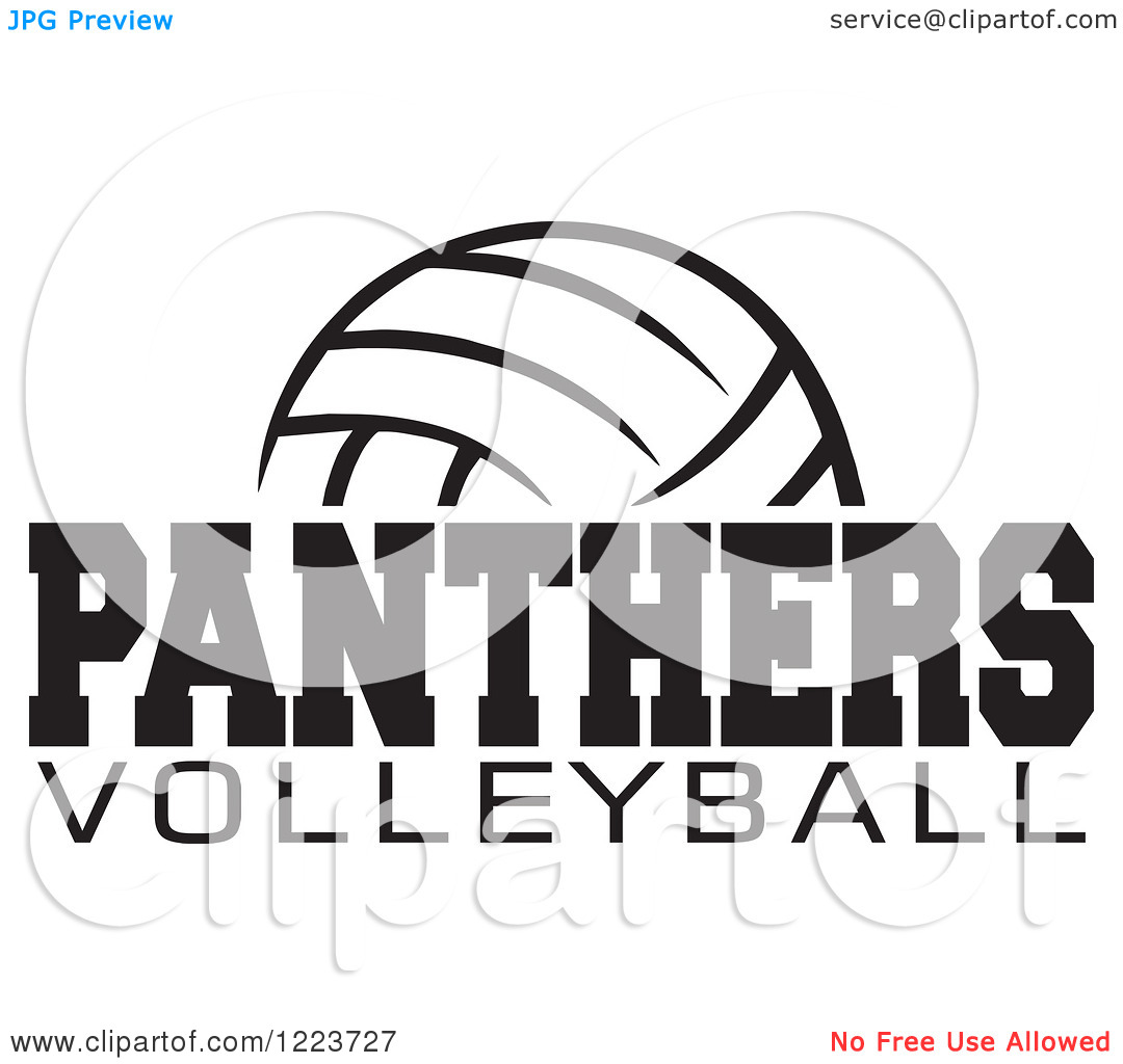 Panther clipart volleyball Clipart Panther volleyball Panther Volleyball