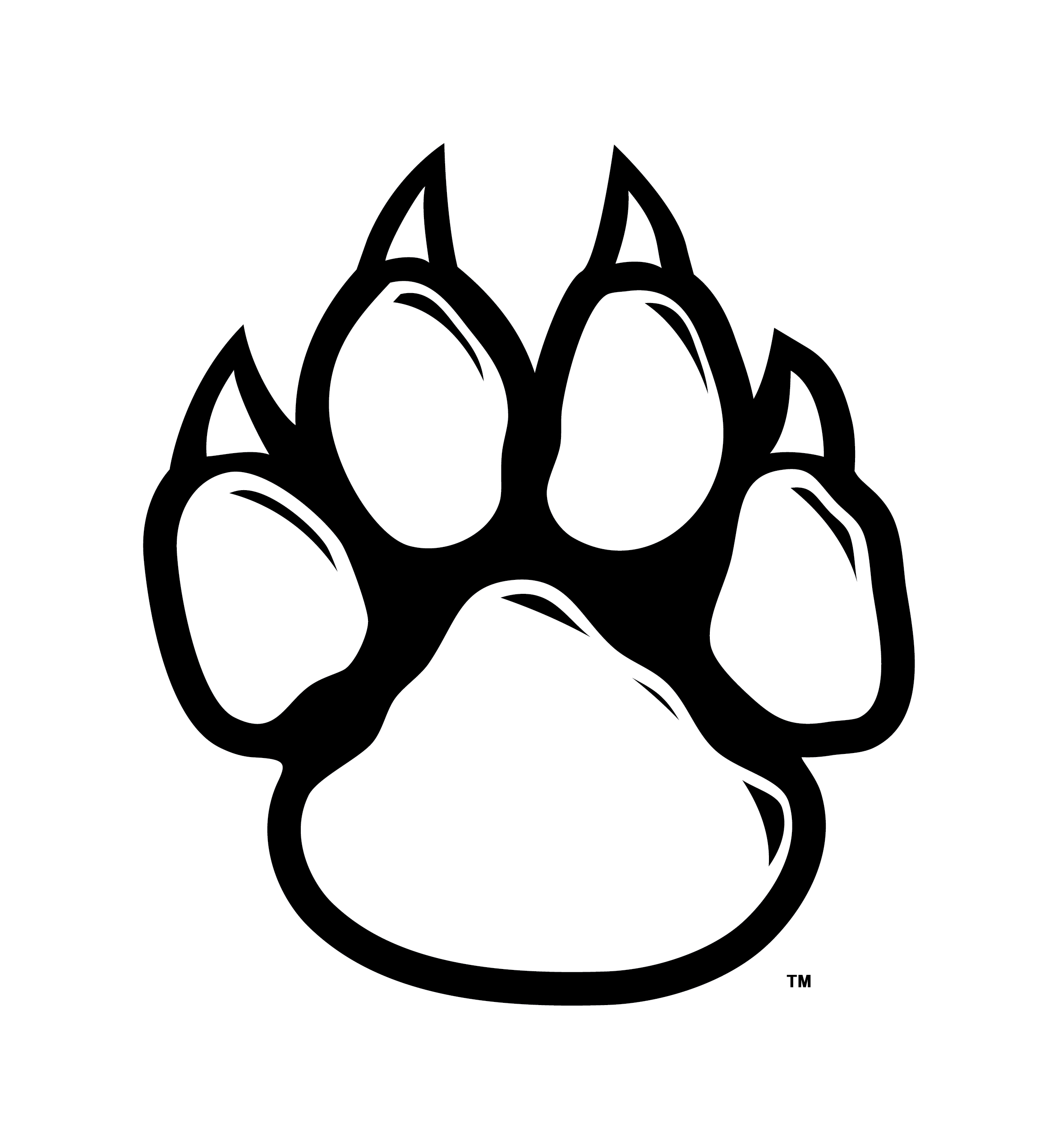Bobcat clipart lion paw  wolf wolf Google Search
