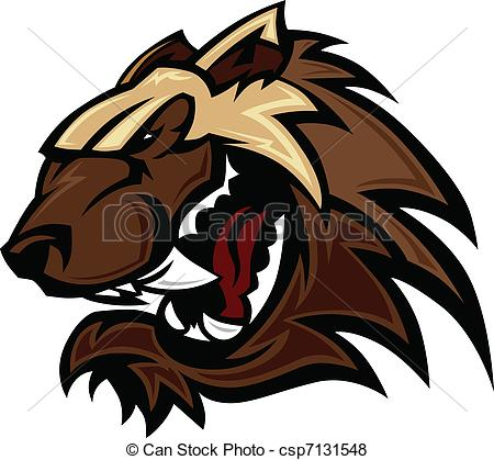 Wolverine clipart badger Vector Badger Badger Mascot Vector