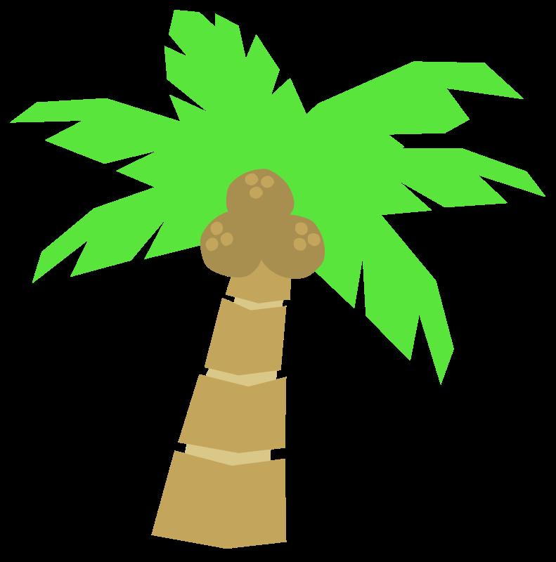 Trunk clipart coconut tree #2