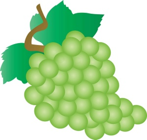 Grape clipart animated Grapes A Of Bunch A