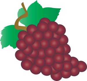 Grape clipart bunch grape Grapes Grapes Of Red Grapes