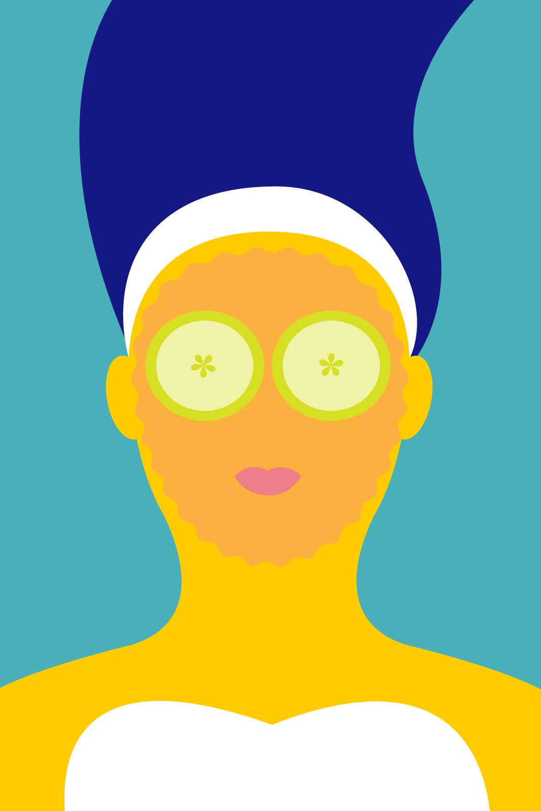 Papaya clipart face  Face Skin Mask For