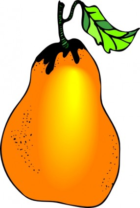 Pear clipart papaya Perfect Cliparts Pear clip pear