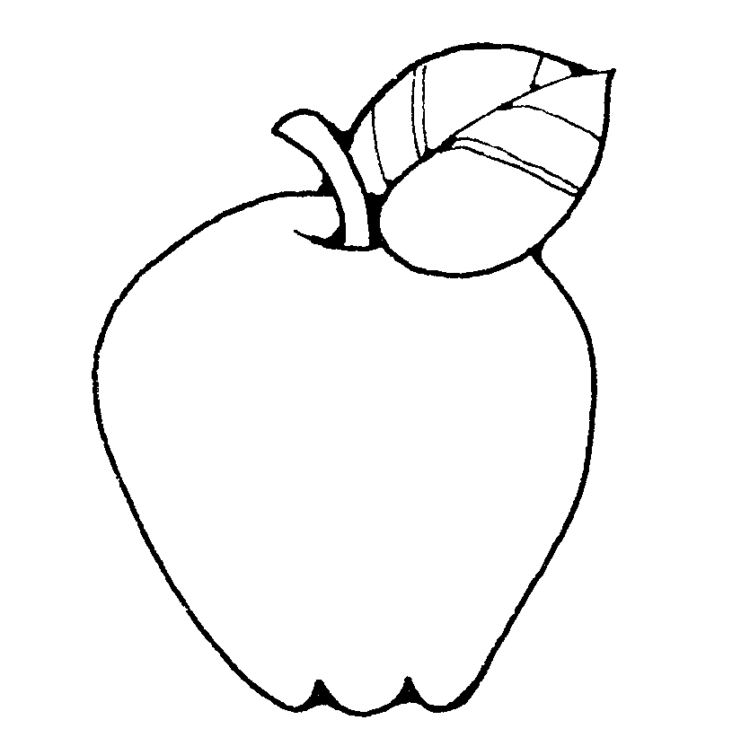 Black & White clipart fruit Clipart clipart of and art