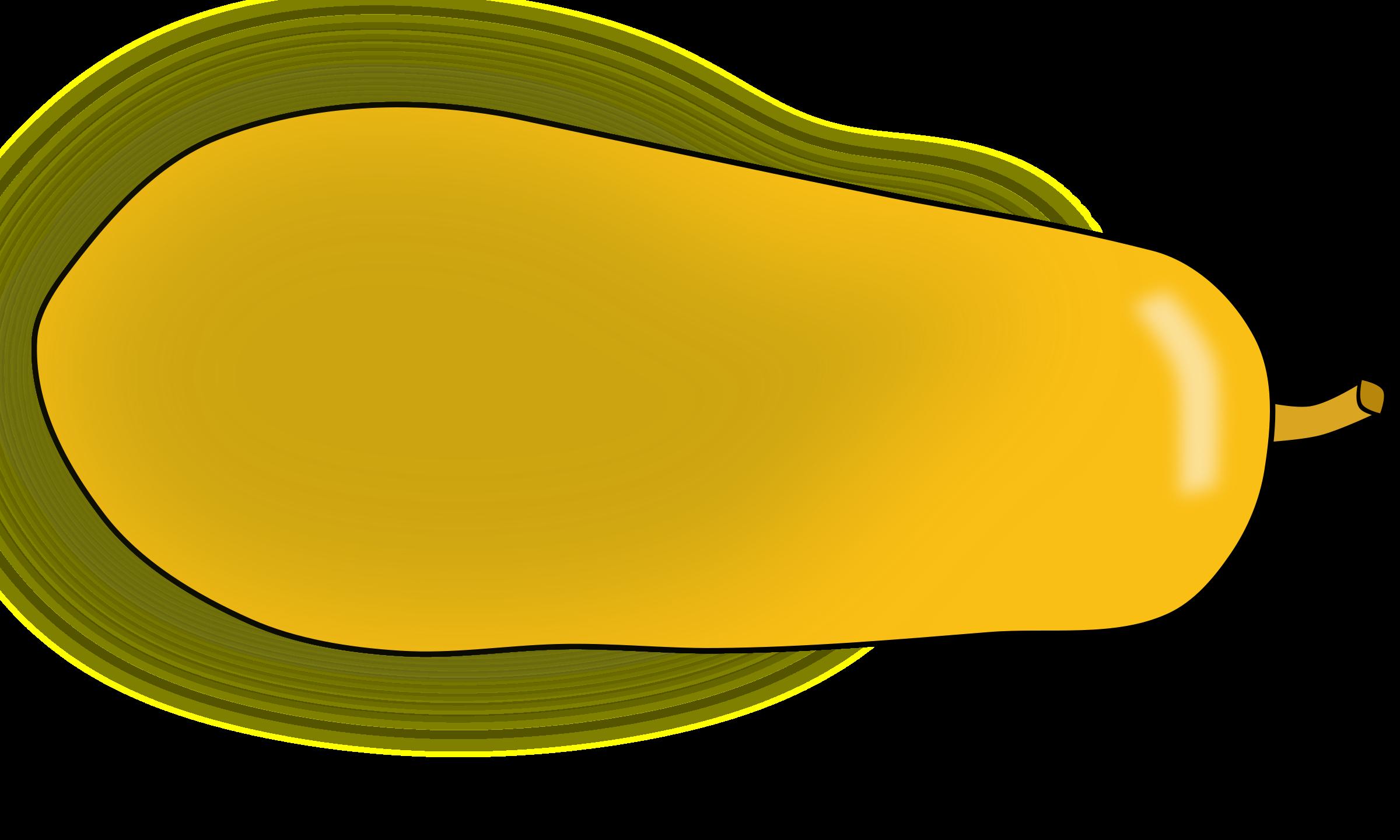 Yellow clipart papaya Papaya Clipart papaya