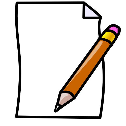 Notebook clipart homework paper Clipart images Paper art graphics