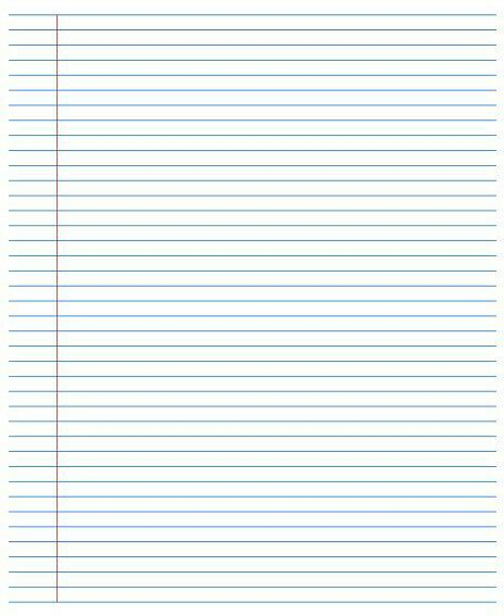 Paper clipart college ruled Paper images best Ruled on