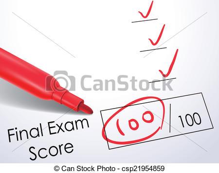 Paper clipart exam paper Exam on exam look at