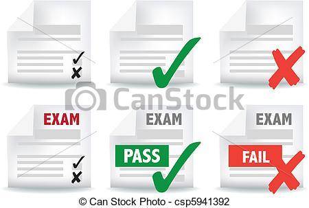 Paper clipart exam paper Exam Art of exam paper
