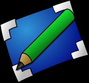 Paper clipart green pencil Art online Pencil Clip And