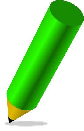 Paper clipart green pencil And com Free Pencil pencil