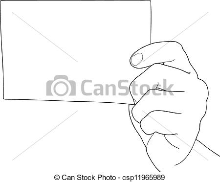 Paper clipart hand holding Hand  Vector sheet holding