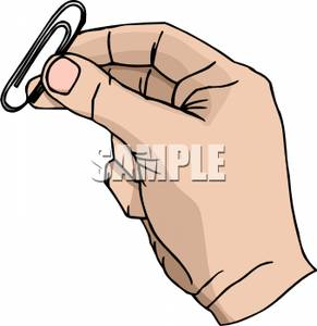 Paper clipart hand holding Clipart Paper Hand Clip a