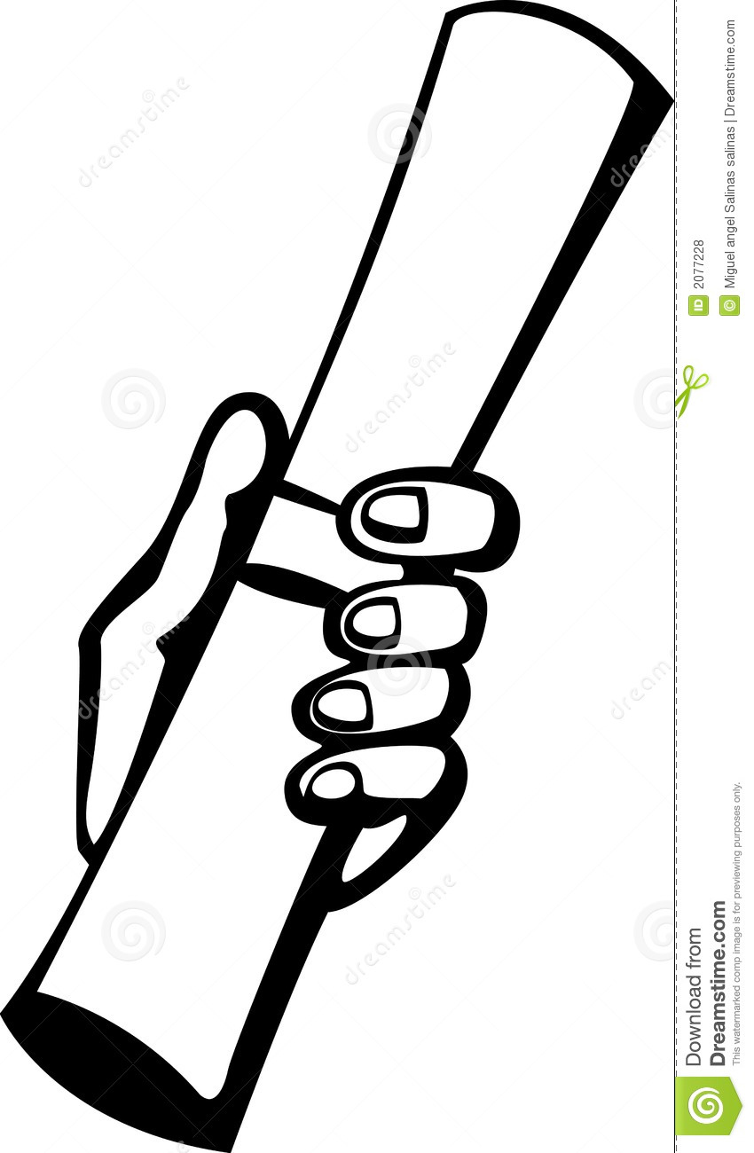 Paper clipart hand holding Paper a Clipart Images holding