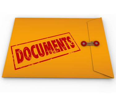 Paper clipart important document Replace Sealed Need Cline Records