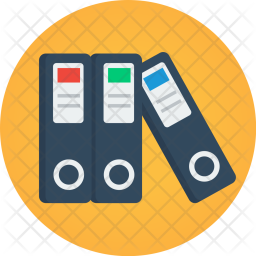Paper clipart important document Iconscout Files Icons Folders Important