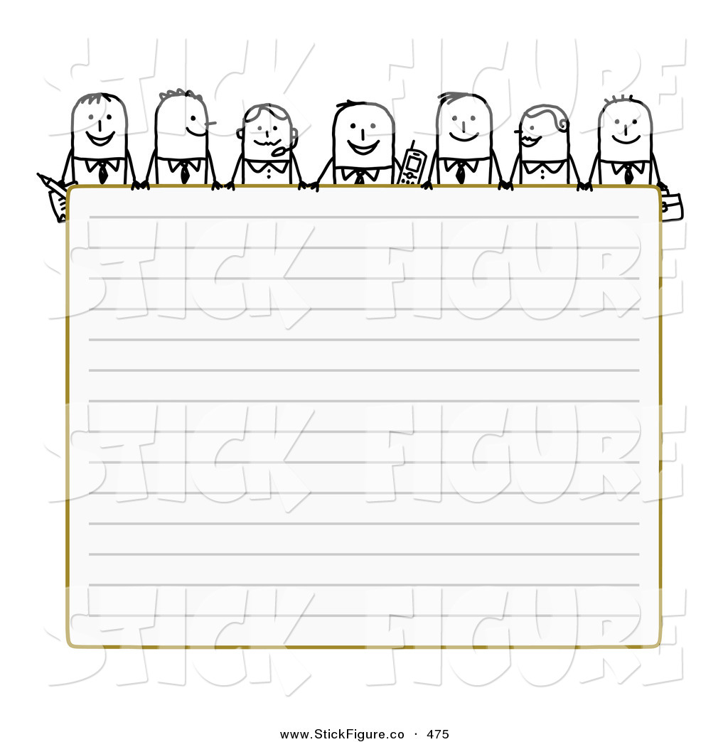 Paper clipart lined paper Paper Blank Clip over Characters