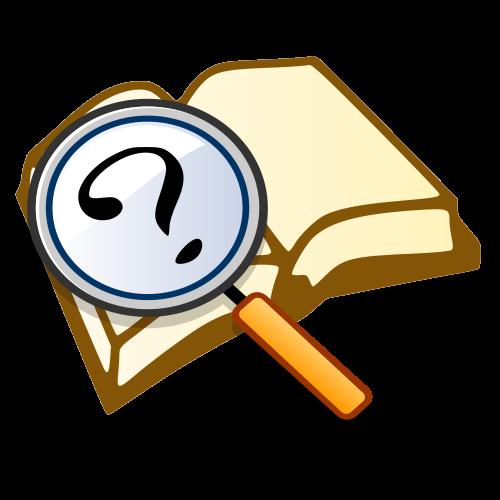 Mystery clipart mystery book #7