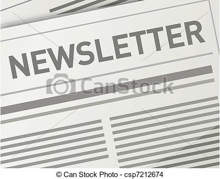 Paper clipart newsletter Design illustration illustration Vector EPS