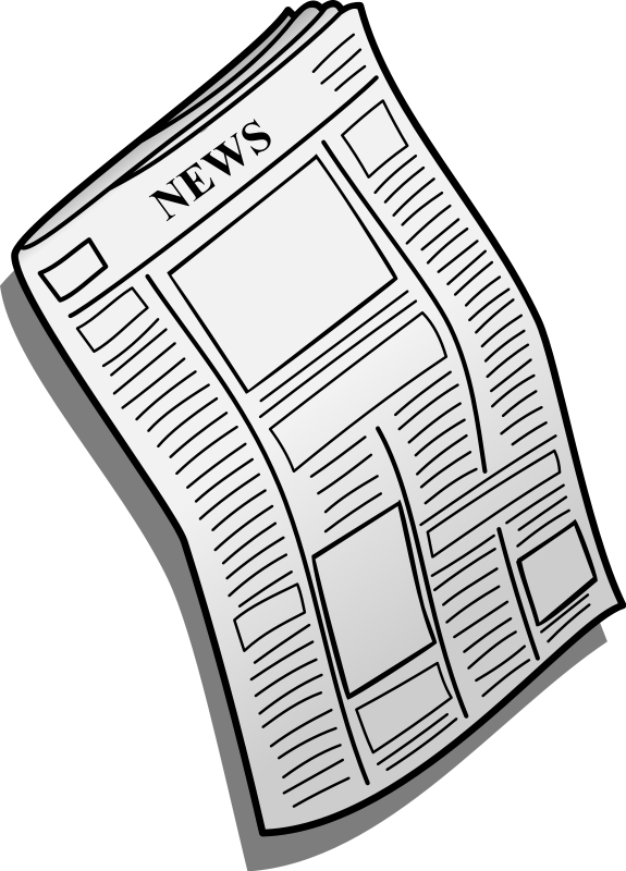 Paper clipart newsletter Image images newspaper clipart Cliparting