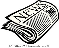 Paper clipart newspaper  News clipart Woman the