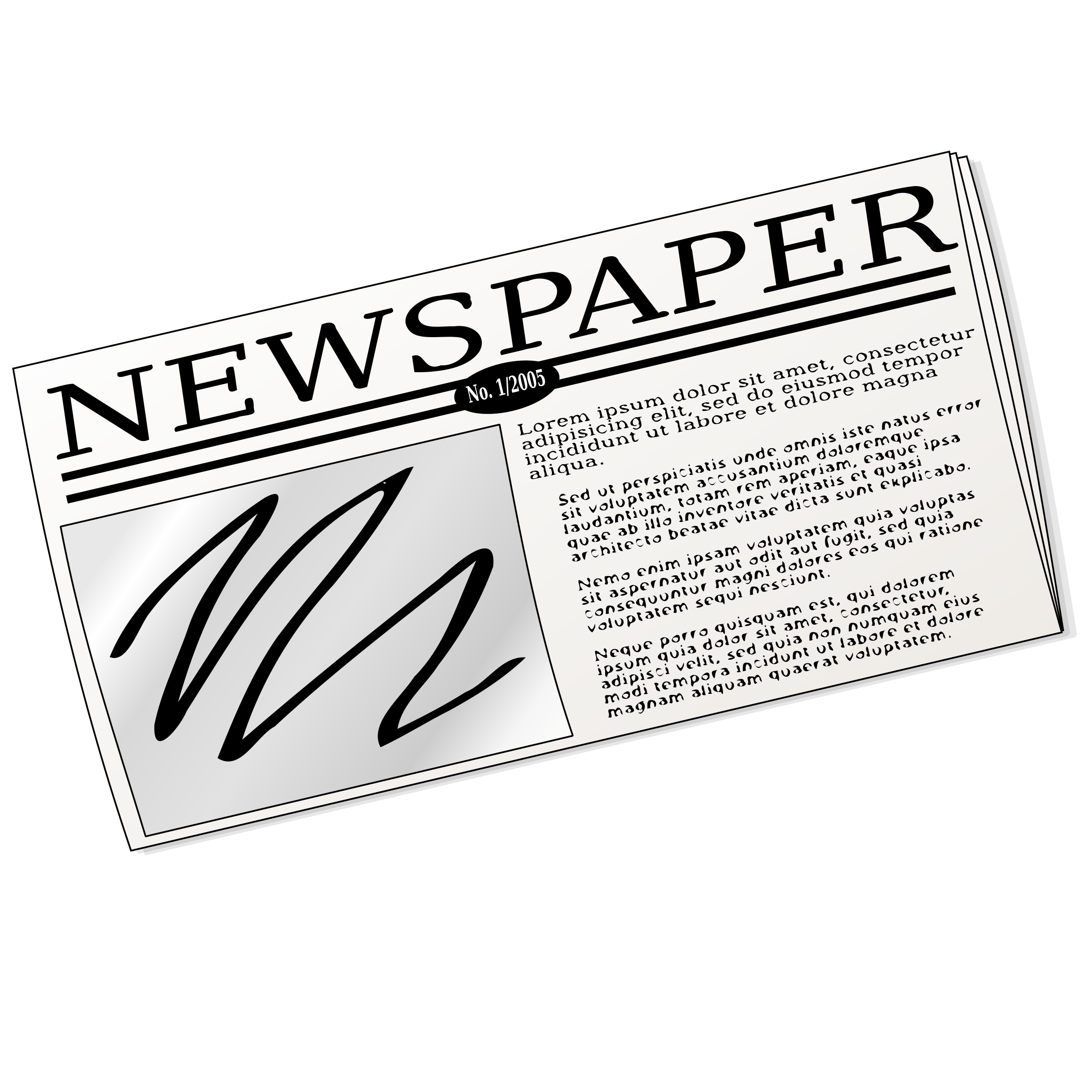 Paper clipart newspaper  Free Cliparts Download Clip