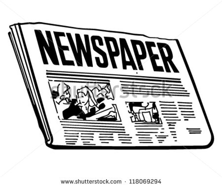 Paper clipart newspaper Free Clipart Clipart Images newspaper%20clipart