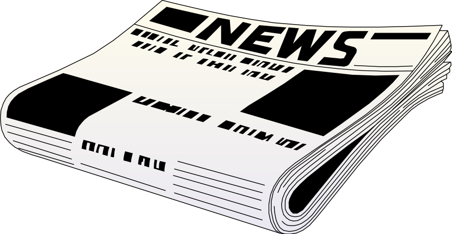 Advertisement clipart news report 4 related Newspaper  reading
