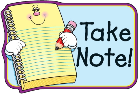 Paper clipart note taking School Clipart clipartsgram School Notes