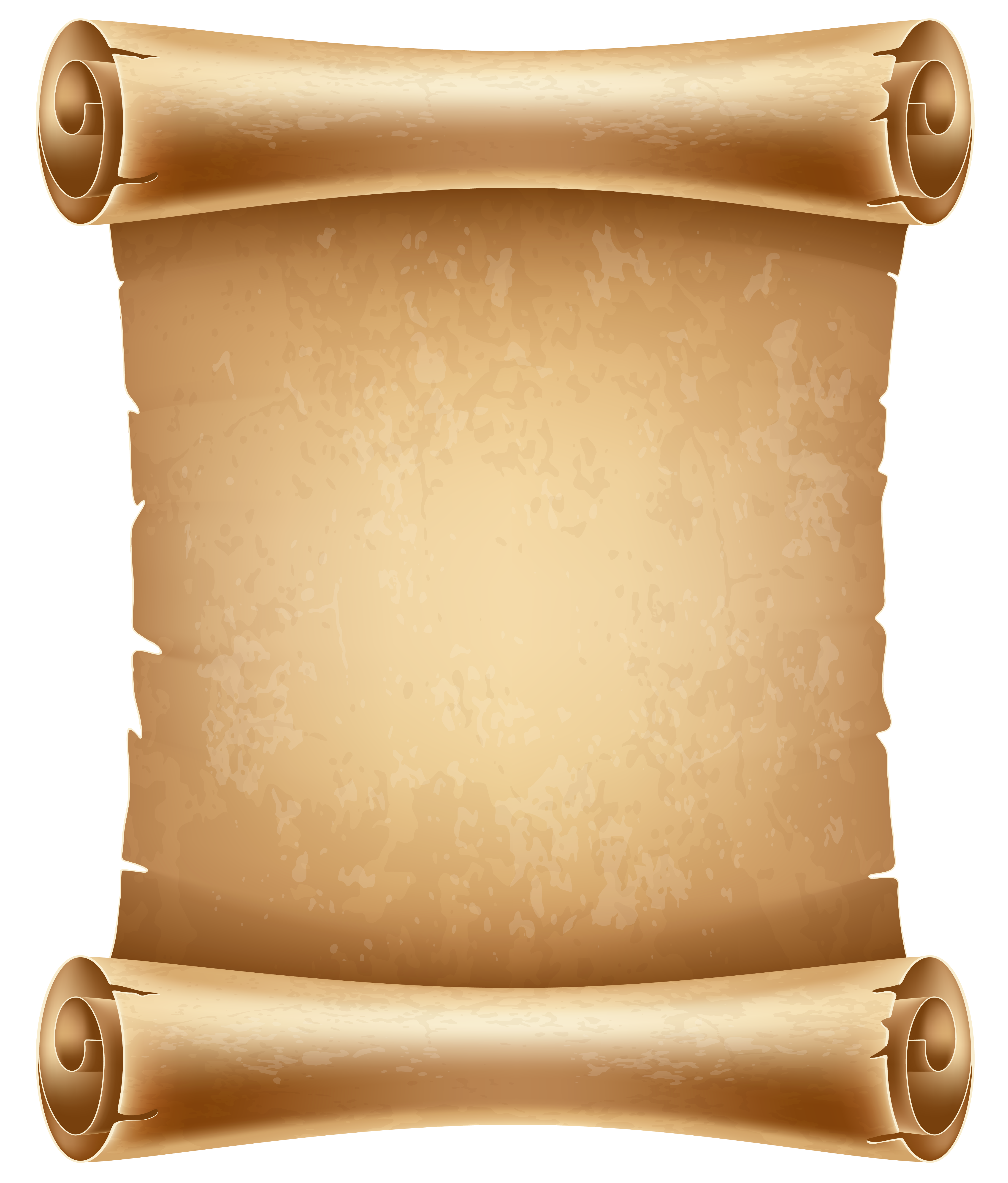 Paper clipart old paper PNG  Scrolls Gallery PNG