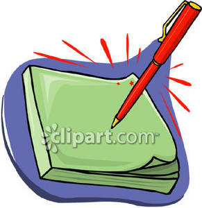 Pen clipart writing pad Images Pen Clipart And Free