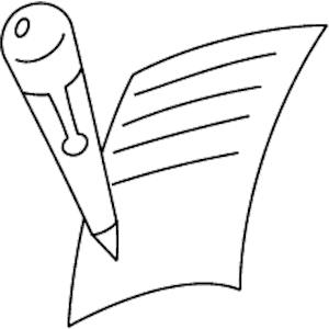 Pen clipart essay outline Free Images Clipart Clipart Pencil