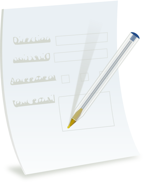 Paper clipart paperwork Clipart Forms #8 clipart drawings