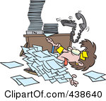 Paper clipart paperwork  In Clipart Buried Paper