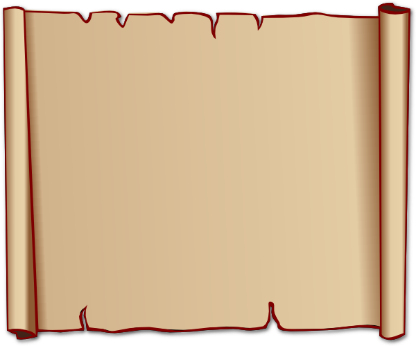 Paper clipart papyrus Clipartix Free art scroll papyrus