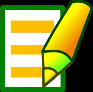Paper clipart pen paper Clipart clipart paper on writing