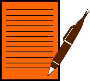 Paper clipart pen paper Dark Art With Download Pen