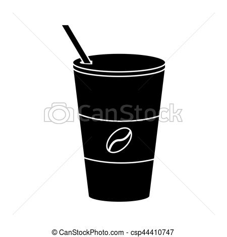 Paper clipart pictogram Hot paper cup coffee pictogram